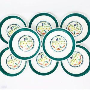 Tre Ci Italian Made Pasta Bowls Set of 8